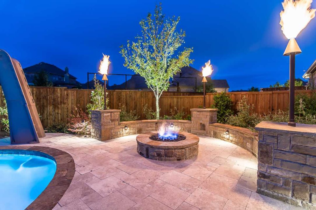 Landscape Lighting Pros Gallery Picture Pool Side