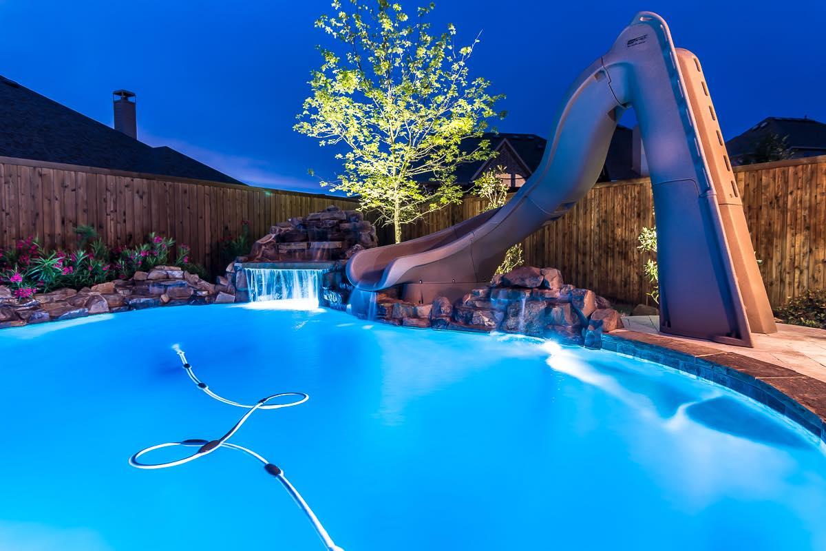 Pool Lighting Photo