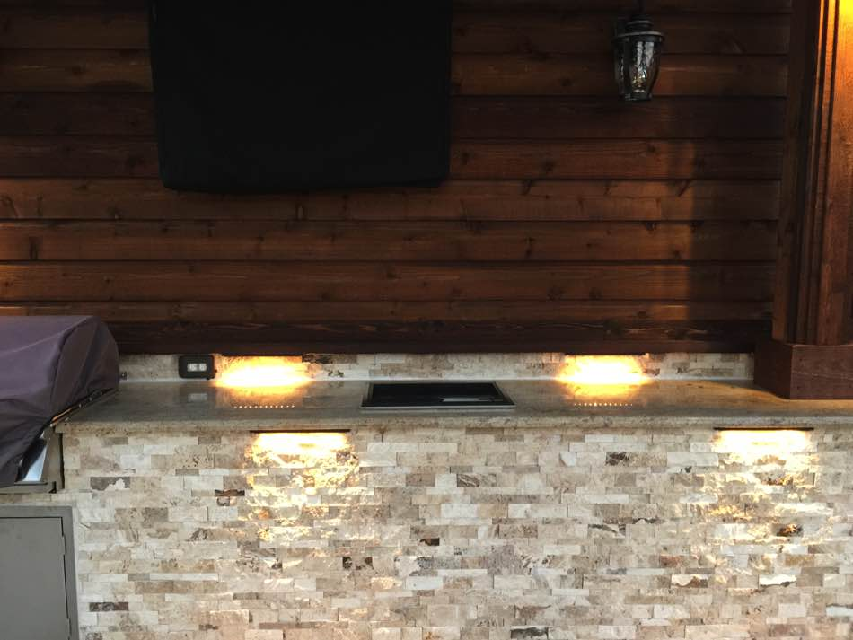 Hardscape Lights For Countertops