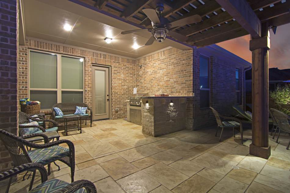 Patio and Grill Lighting