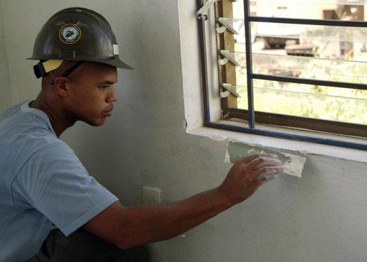 Window Being Installed
